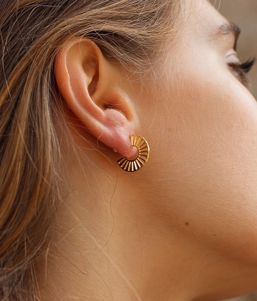 NORIA gold earrings