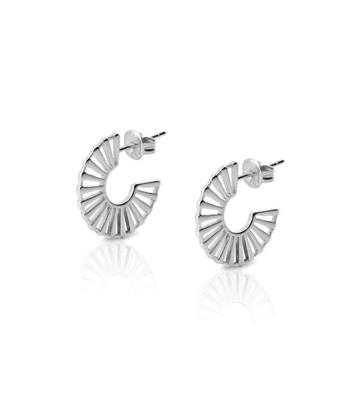 NORIA silver earrings