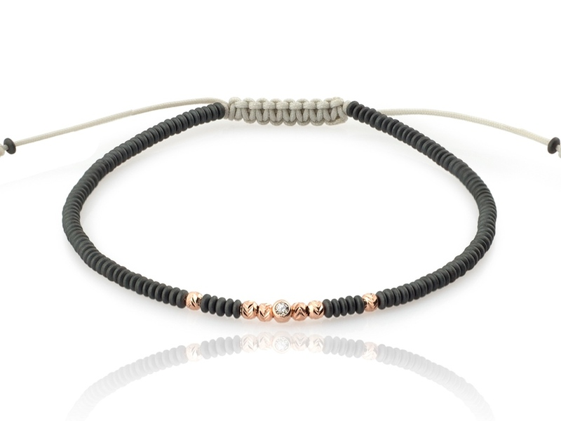 JAPANESE 7 gold bracelet