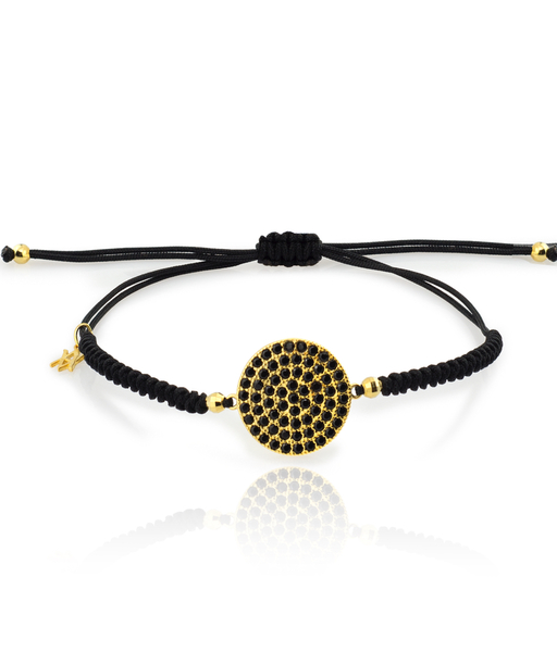 Black moon bracelet gold