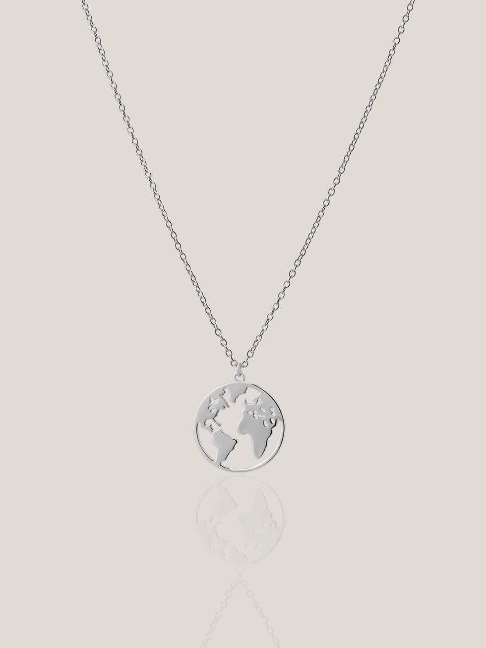 Collar SMALL WORLD plata