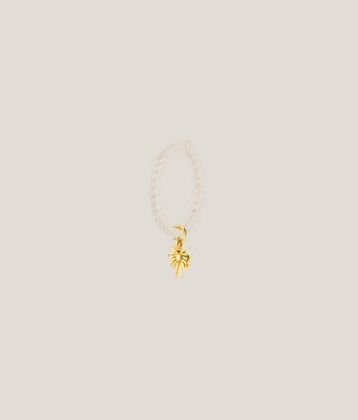 Single charm PALM oro