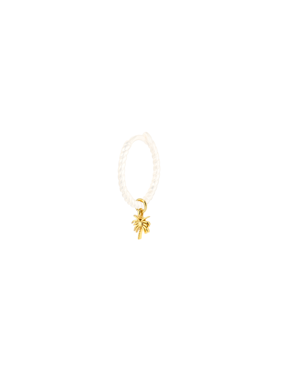 Single charm PALM gold