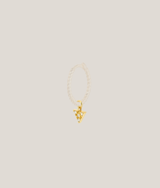 Single charm TRIANGLE oro