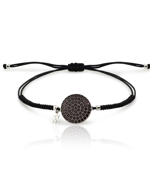 PULSERA BLACK MOON plata