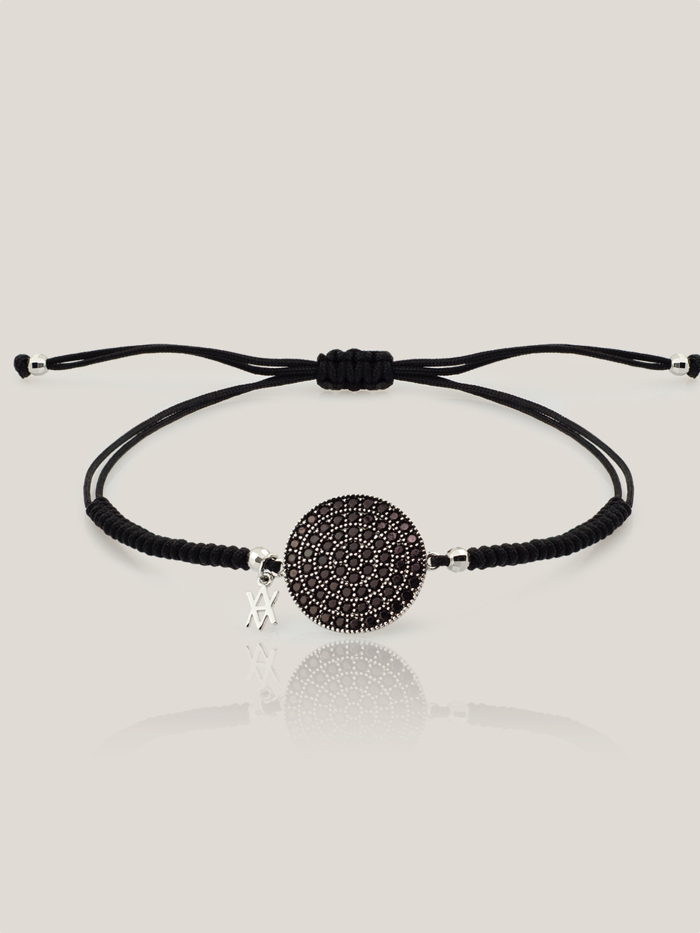 Pulsera black moon plata2