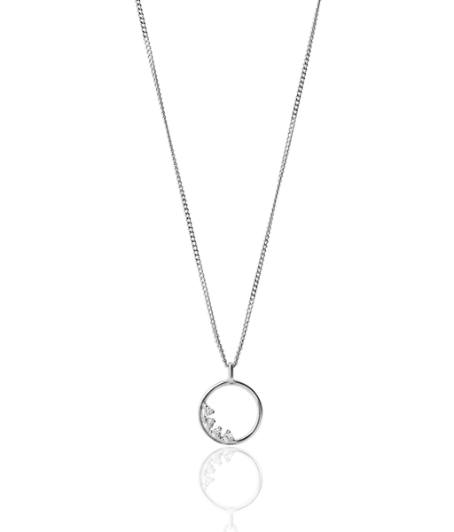 RADIANT SILVER NECKLACE