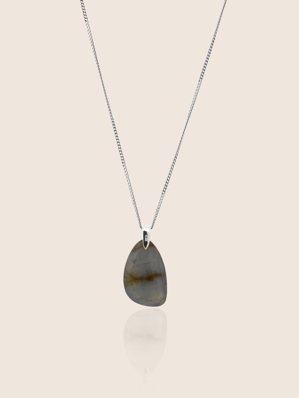 THE SAND silver necklace