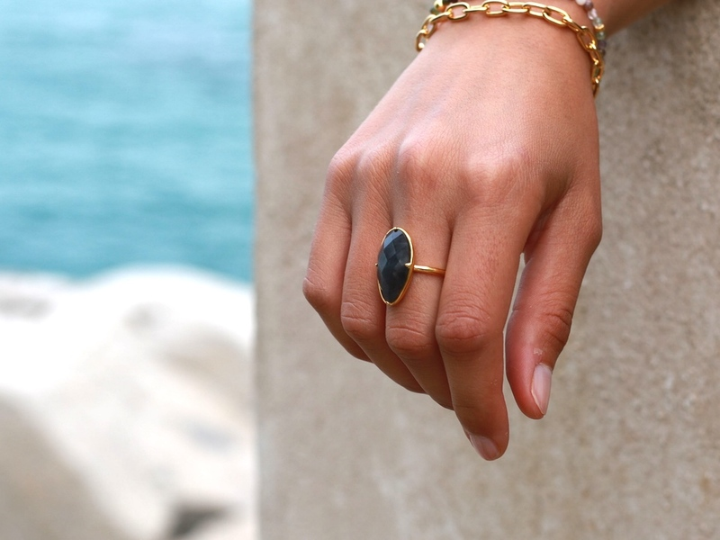 THE SAND GOLD RING