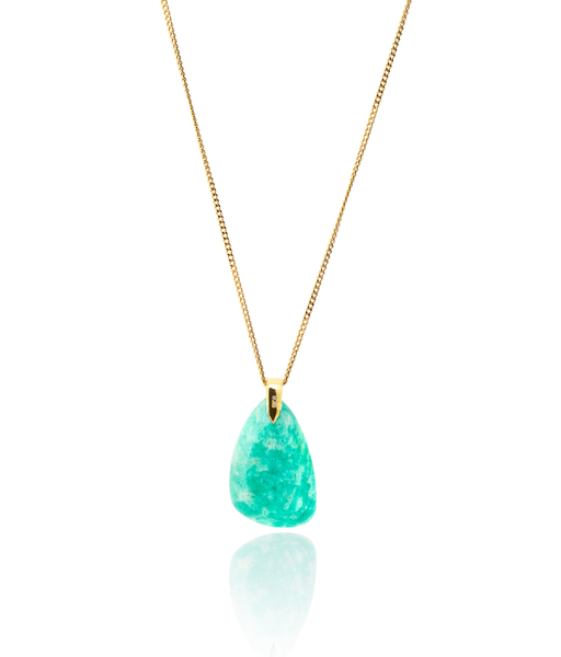 THE SEA gold necklace