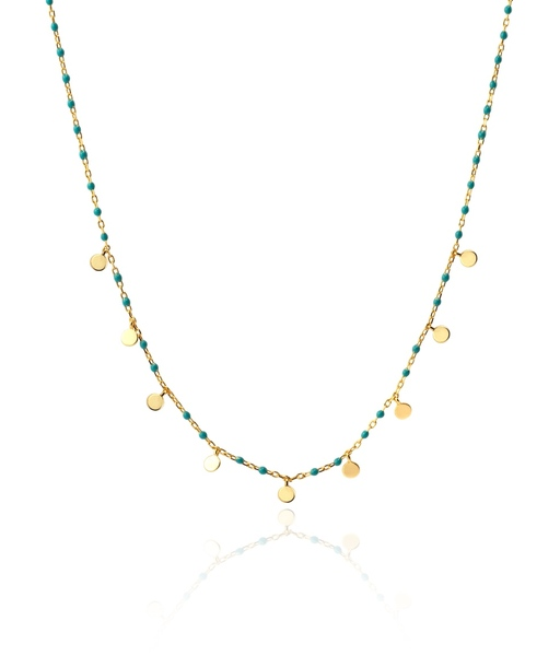 LA MER gold necklace
