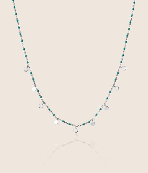 LA MER silver necklace
