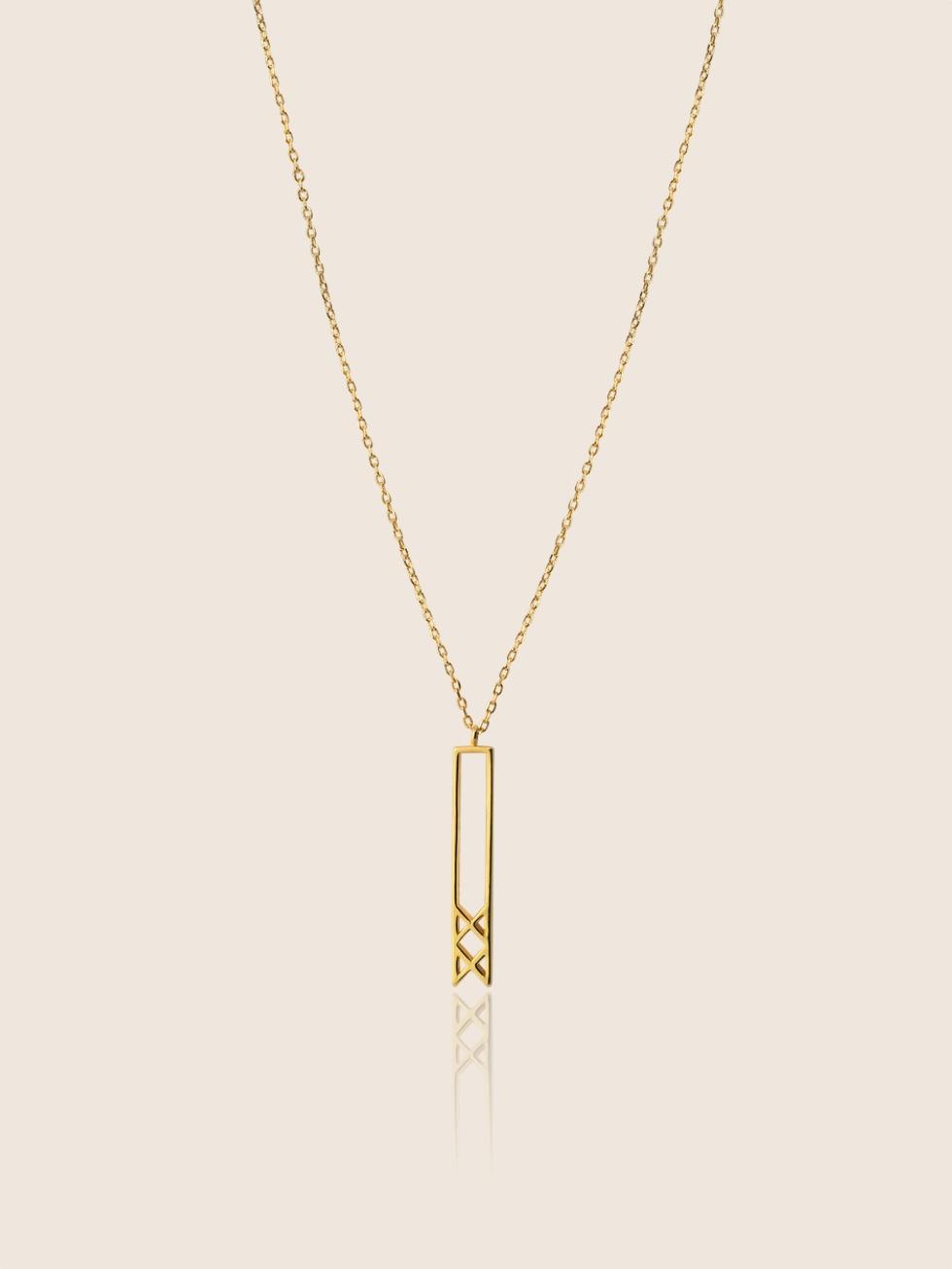 Collar inguz oro2