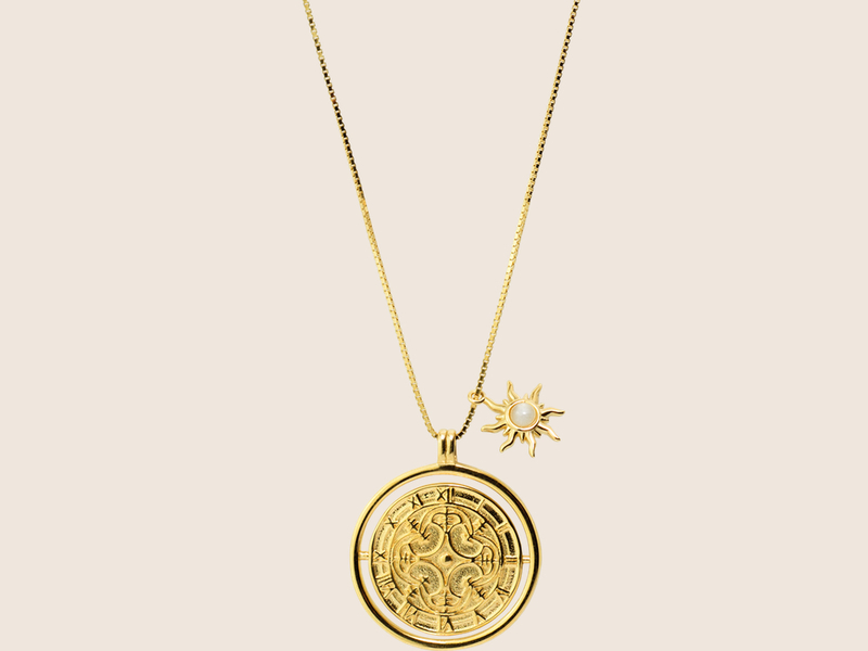 GIRATIEMPO gold necklace