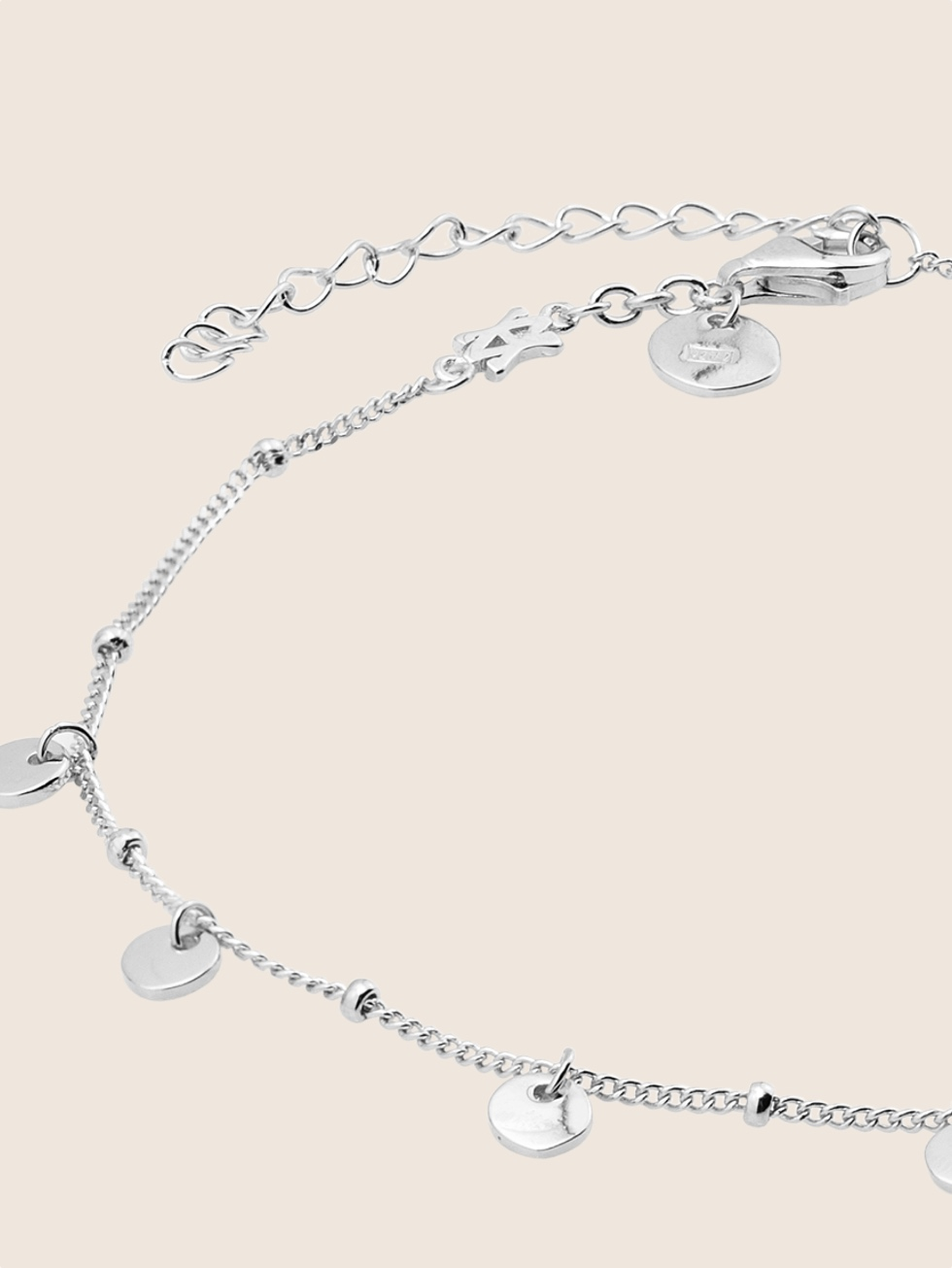 Anklet gypsy silver0