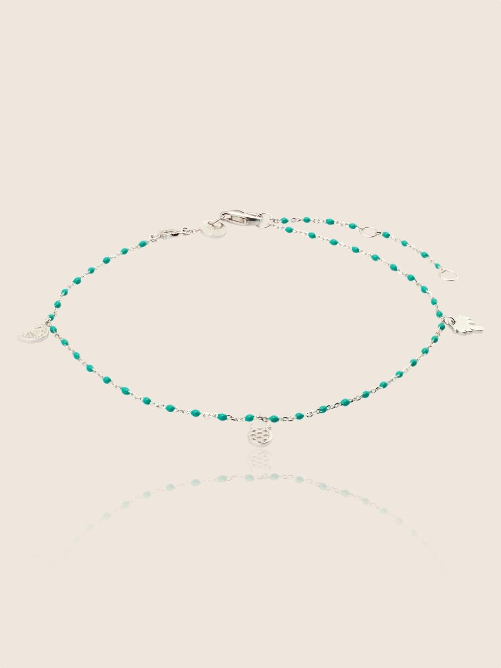 Anklet blue plata2