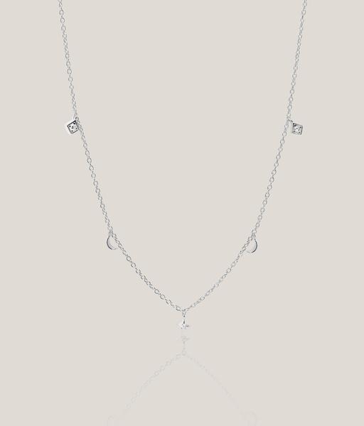 MOONSTAR choker silver