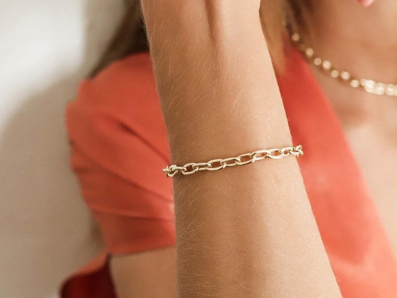 BOLD gold bracelet
