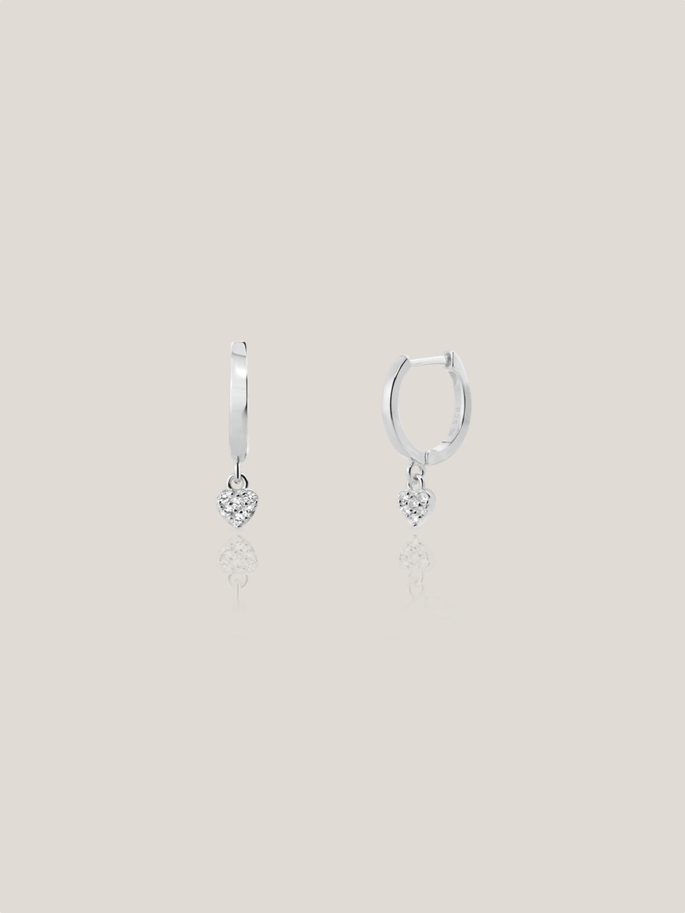 CORAZON silver earrings