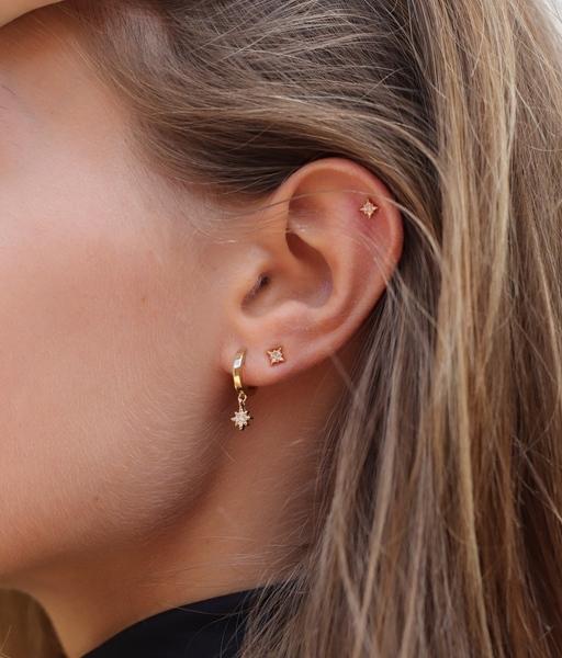 Boucles d'oreilles MINI POLAR or