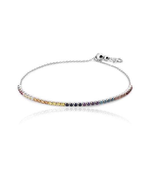 RAINBOW silver bracelet