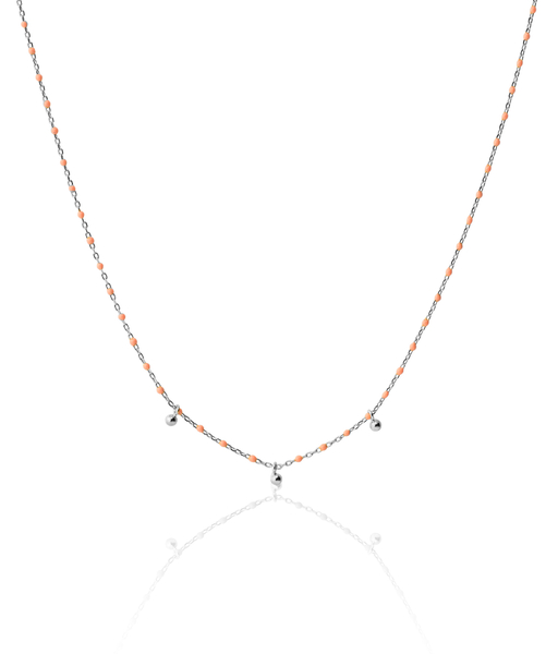 Collier CORAL argent