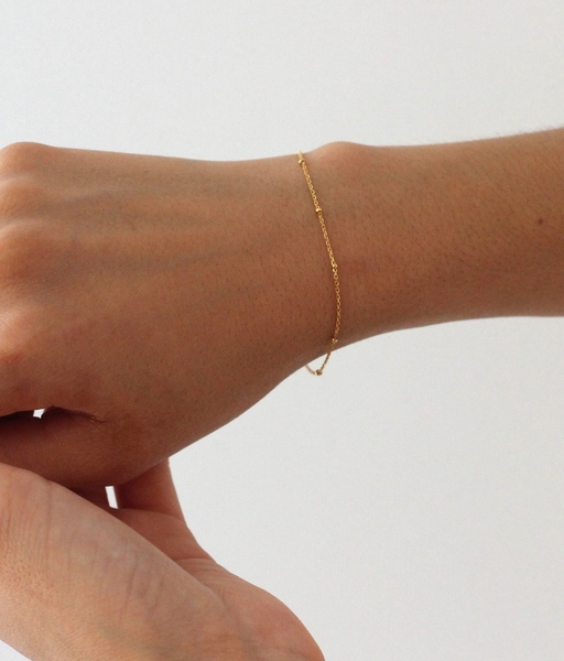 Gold MINI BOLITAS bracelet