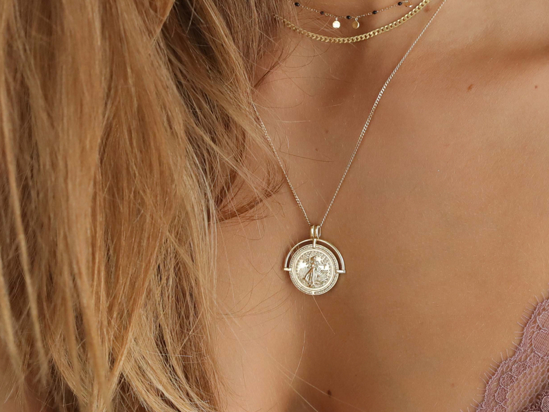 MARIANNE gold necklace