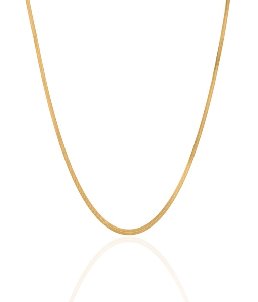 SNAKE gold necklace