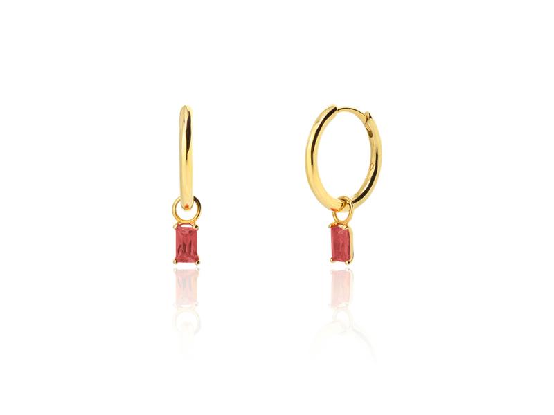 ESCARLATA gold earrings