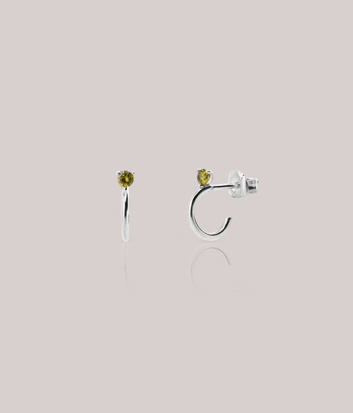 Boucles d'oreilles MELON argent