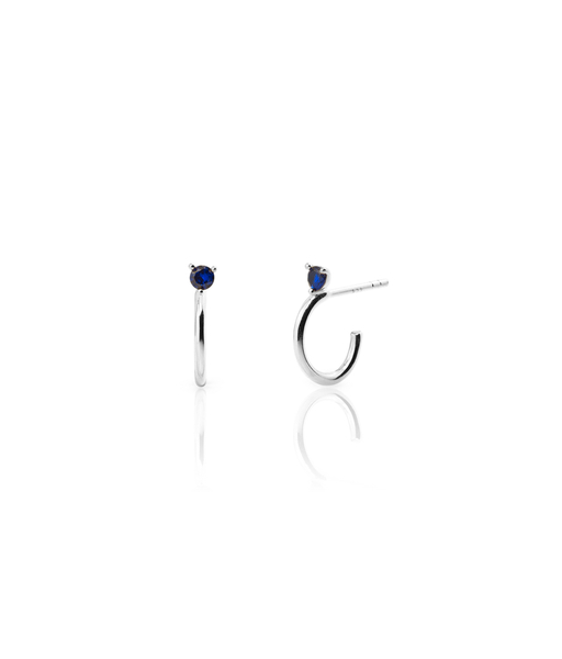 Boucles d'oreilles OCEAN argent