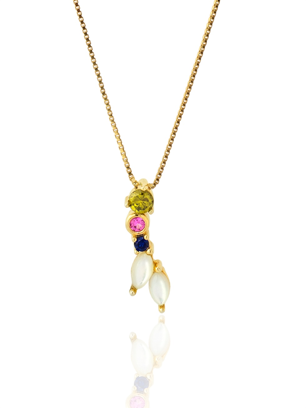 IVOLI gold necklace