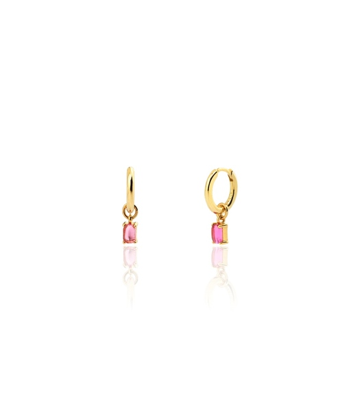 LILY gold hoops earrings