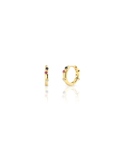 Arracades MINI AQUAREL BLUE or