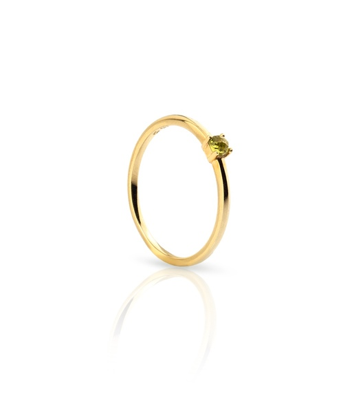 OLIVE GRAPS gold ring