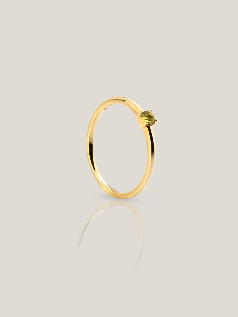 Anillo olive graps gold2