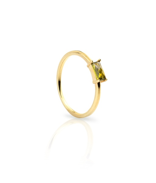 Bague OLIVIA GREEN or
