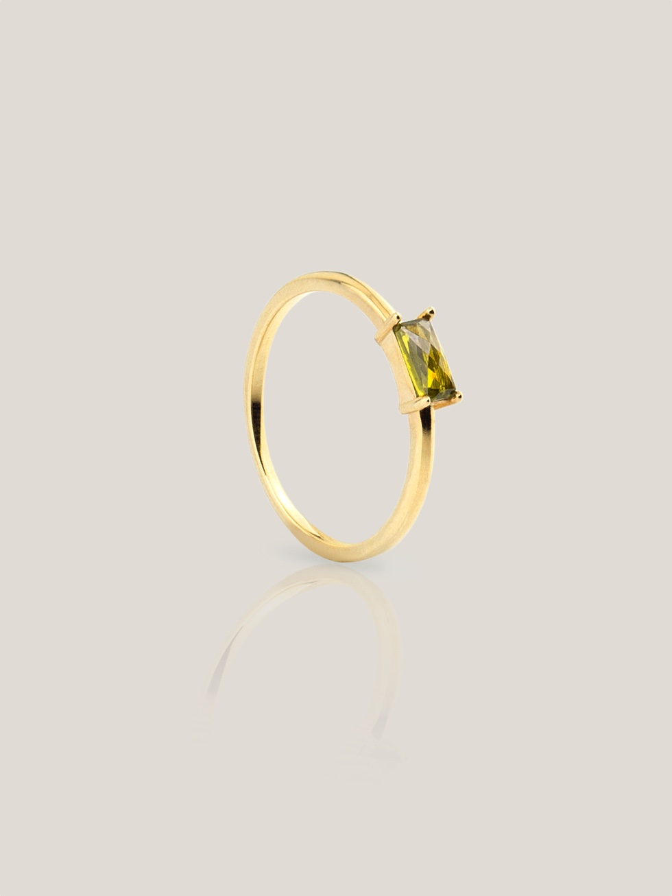 Anillo olivia green gold2