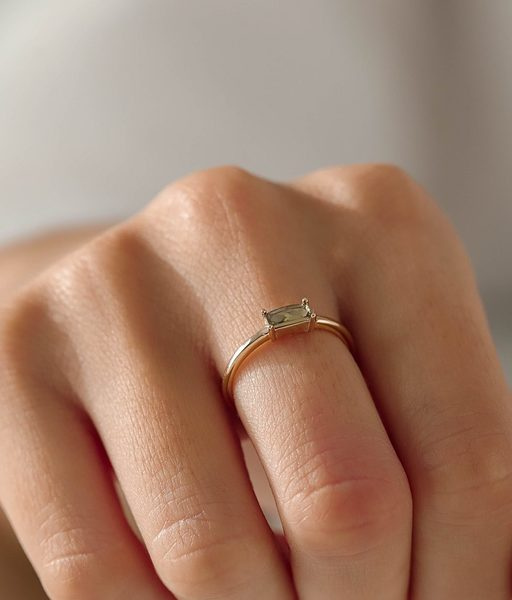 OLIVIA GREEN gold ring