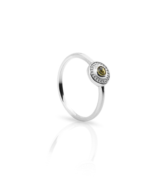CONCENTRIC silver ring