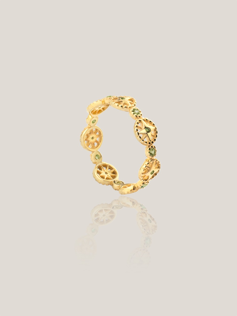 Anillo wheels gold2