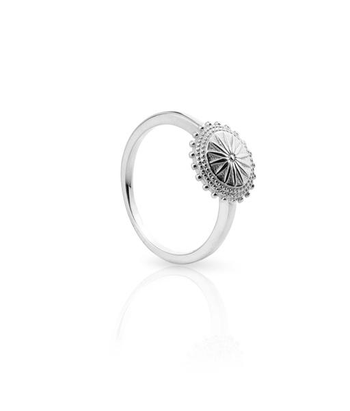 SUN silver ring
