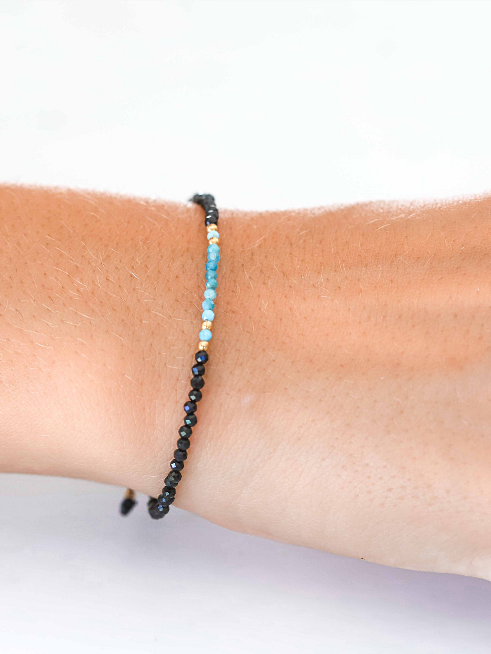 DEEP BLUE gold bracelet