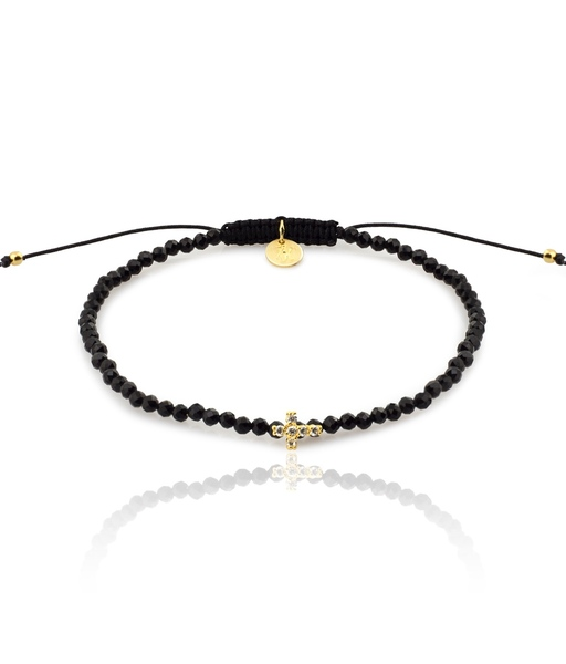 Pulsera MINI CRUZ oro