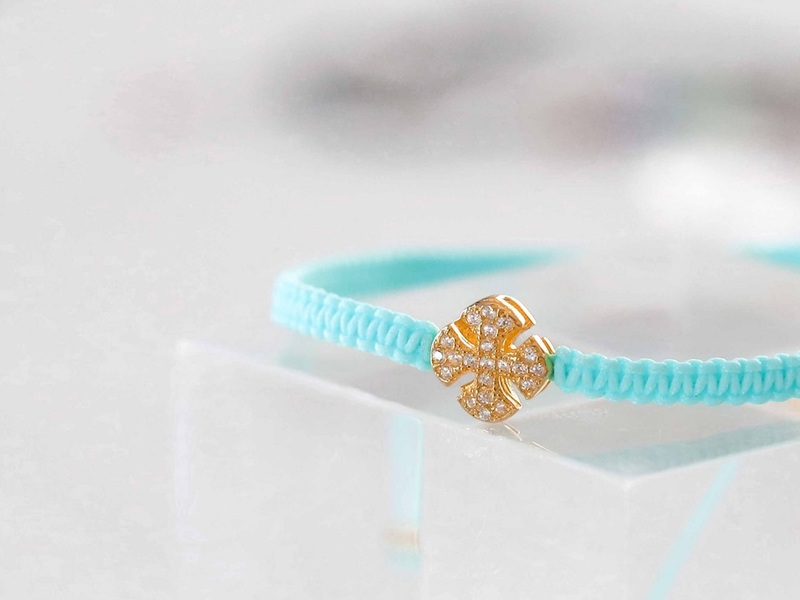 SUMMER CROSS gold bracelet