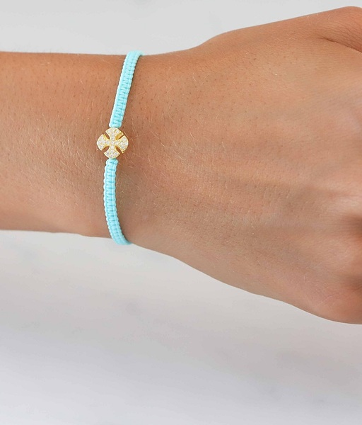Pulsera SUMMER CROSS oro