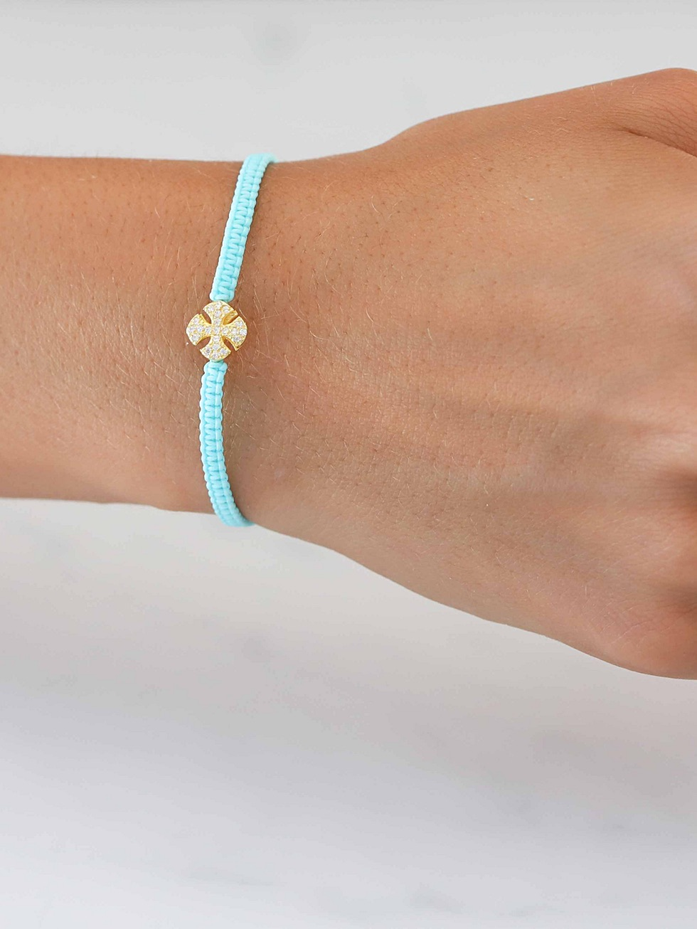 Pulsera summer cross oro3