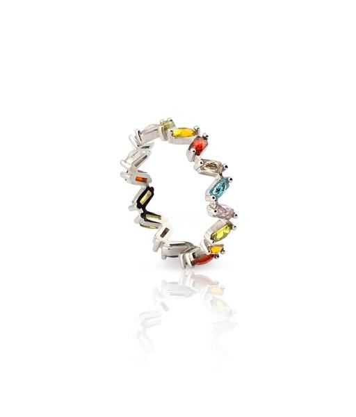 BIRD silver ring