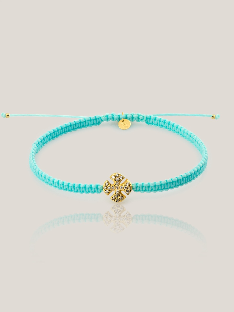 Pulsera summer cross oro02